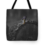 Butterfly On Tombstone Tote Bag