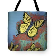 Butterfly Picnic Tote Bag