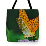 Butterfly Pose Tote Bag