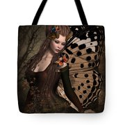 Butterfly Princess Of The Forest 2 Tote Bag