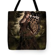 Butterfly Princess Of The Forest Tote Bag