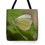 Butterfly Profile Tote Bag