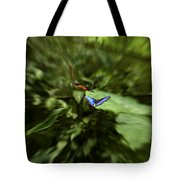 Butterfly Race Tote Bag