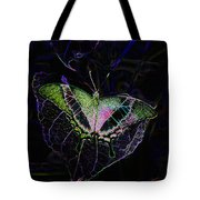 Butterfly Rws Work Number Two Tote Bag