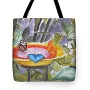 Butterfly Sanctuary At Niagara Falls Tote Bag