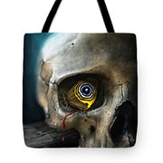 Butterfly Skull Tote Bag