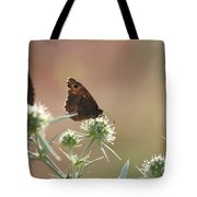 Butterfly Spring Nature Morning Scene Tote Bag