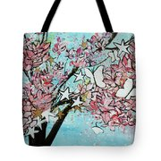 Butterfly Star Magnolia Soulangeana 201825 Tote Bag