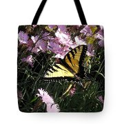 Butterfly Surprise Watercolor Tote Bag