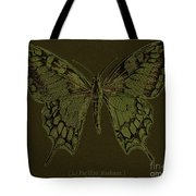Butterfly Swallow Tail Tote Bag