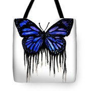 Butterfly Tears Tote Bag