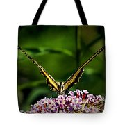 Butterfly Victory Tote Bag