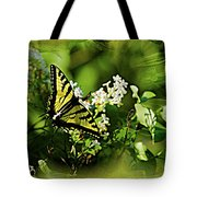 Butterfly Wall Decor Tote Bag