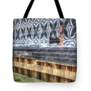Butterfly Walled Graffiti Tote Bag