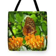 Butterfly Weed Fritillary Tote Bag