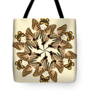 Butterfly Wheel Dance Tote Bag