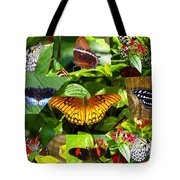 Butterfly Work 10 Tote Bag