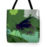 Butterfly Work Number Ten Tote Bag