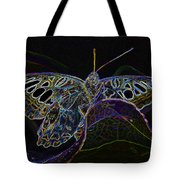 Butterfly Work Rws Number 6 Tote Bag