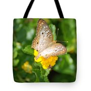Butterflywith Dots Tote Bag