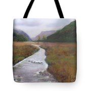 Buttermere In The Lake District Tote Bag