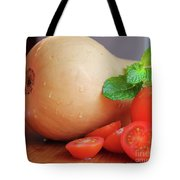 Butternut Mint And Tomatoes Tote Bag