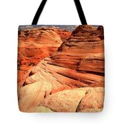 Buttes And Checkerboards Tote Bag
