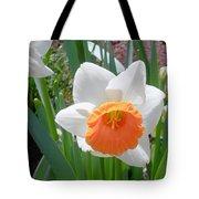 Button Daffodil Tote Bag