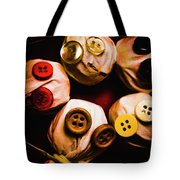 Button Sack Lollypop Monsters Tote Bag