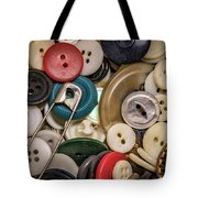 Buttons And Buttons Tote Bag