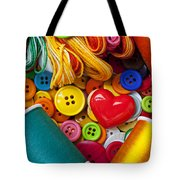 Buttons And Thread Tote Bag