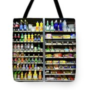 Buy Happiness, Automated By Vending Machine Tote Bag