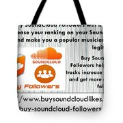 Buy Soundcloud Followers For Audience Attention- Buysoundcloudlikes Tote Bag