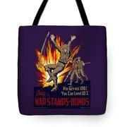 Buy War Stamps And Bonds Tote Bag