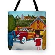 Buying The Tree Tote Bag