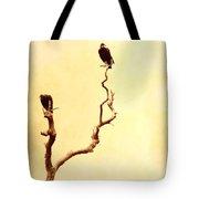 Buzzard Art Tote Bag