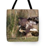 Buzzard Feeding Tote Bag