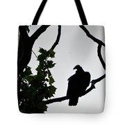Buzzard Silhoutte Tote Bag