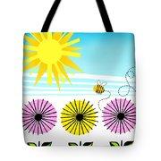 Buzzy As A Bee Tote Bag
