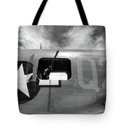 Bw Aircraft Gunner Window Tote Bag