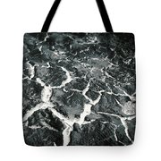 Bw Crackle Tote Bag