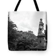 Bw Edinburgh Scotland  Tote Bag