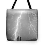 Bw Lightning From Heaven Tote Bag