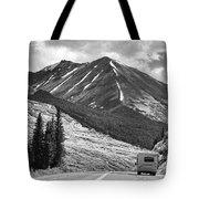 Bw Mobile Home Travel Alaska  Tote Bag