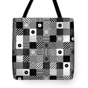 Bw Pop Pattern Tote Bag