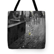 Bw Prague Charles Bridge 01 Tote Bag