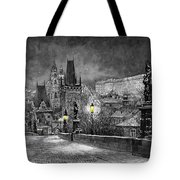Bw Prague Charles Bridge 06 Tote Bag