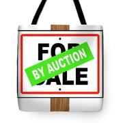 By Auction Tote Bag