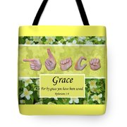 By Grace Tote Bag