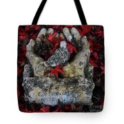 By His Hands Tote Bag